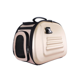 IBIYAYA Classic EVA Collapsible Pet Carrier - Beige