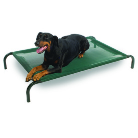 Snooza Flea Free Raised Flat-Pack Trampoline Dog Bed