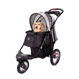 Ibiyaya Turbo Pet Jogger & Stroller - Black