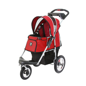 Ibiyaya Turbo Pet Jogger & Stroller - Red