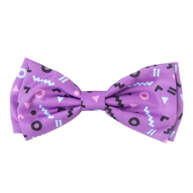 "Fuzzyard Bowtie for Cats or Dogs - ""Prince"" Purple"