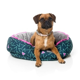 "Fuzzyard ""Voltage"" Reversible Dog Bed"
