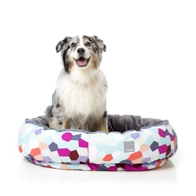 "Fuzzyard ""Kaleidoscope"" Reversible Dog Bed - Medium"