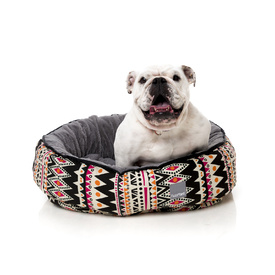 Fuzzyard San Felipe Mexican-Inspired Dog Bed - Medium