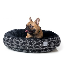 FuzzYard Reversible Dog Bed Black Diamond - Large