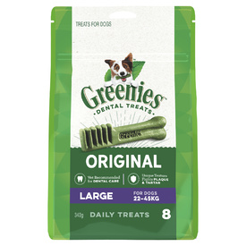 Greenies Dental Chew Treats for Dogs - 340g Treat-Paks