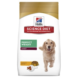 Hills Science Diet Canine Adult Perfect Weight Dry Dog Food