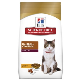 Hills Science Diet Feline Adult Hairball Control Dry Cat Food