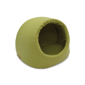 Snooza Igloo Cat Bed in Metro Avocado - Size: Small