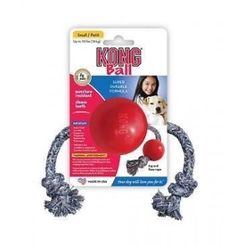 KONG Ball w Rope Small