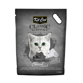 Kit Cat Litter Crystals - Charcoal 5 litres