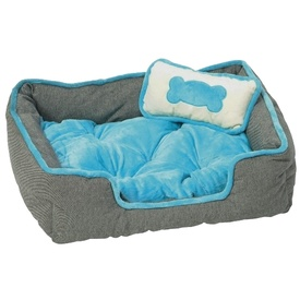 Prestige Luxury Pet Bed for Dog or Cat + FREE Pillow
