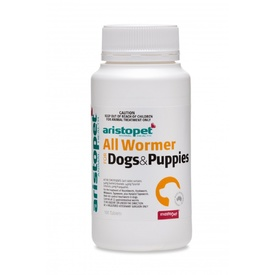 AristoPet All Wormer Tablets for Puppies and Small Dogs