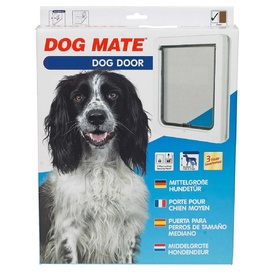 Dog Mate Pet Door - White