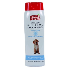 Nature's Miracle Supreme Odor Control 4-in-1 Puppy Shampoo and Conditioner
