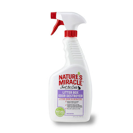 Nature's Miracle Cat Litterbox Odor Destroyer - 709ml