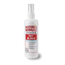 "Nature's Miracle ""Pet Block"" Cat Repellent Spray 236ml"
