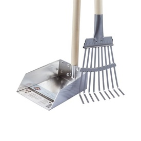 Spotty Dog Metal Clean-up Tray and Rake