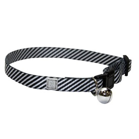 "T&S Safety Breakaway ""Stormy Stripe"" Cat Collar"