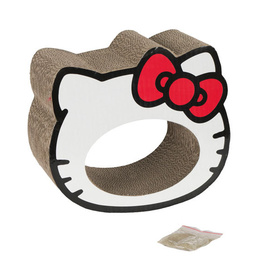 Hello Kitty Scratchtastic Cardboard Cat Scratcher with Catnip