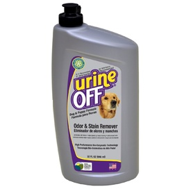 Urine Off Odour & Stain Remover Spray for Dog & Puppy Pee - 946ml