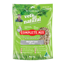 Vets all Natural Complete Mix for Dogs for Weight Loss 1kg