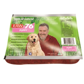 Vets All Natural RAW76 Puppy 800g - Frozen - In Store Pickup Only