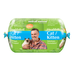 Vets All Natural Health Roll for Cats & Kittens 600g - Frozen - In Store Pickup Only