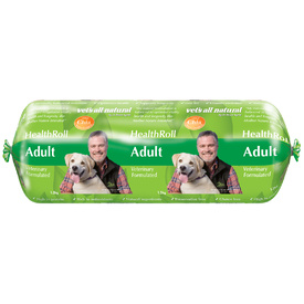 Vets All Natural Health Roll for Adult Dogs 1.2kg - Frozen - In Store Pickup Only