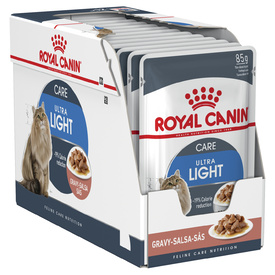 Royal Canin Feline Adult Ultra Light in Gravy x 12 Pouches