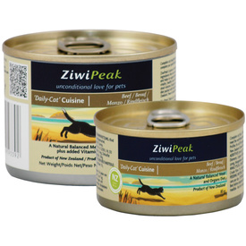 Ziwi Peak 'Daily Cat' Cuisine Moist Cat Food - Beef - 85g x 1 can