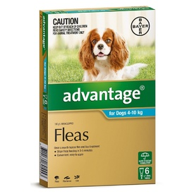 Advantage Flea Control for Dogs 4-10kg