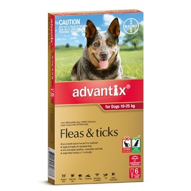 Advantix Flea & Tick Treatment for Dogs 10-25kg