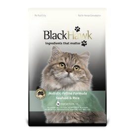 Black Hawk Seafood Holistic Dry Food for Cats & Kittens - All sizes available