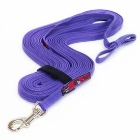 Black Dog Tracking Lead for Recall Training - 11 meters