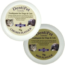 Dentipet Toothpaste for your Cat or Dog with BONUS Finger Toothbrush