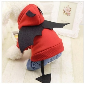 Little Devil Onesie Costume for Cats or Dogs - Perfect For Parties or Halloween!