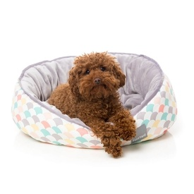 "FuzzYard Reversible Dog Bed - ""Rise & Shine"""