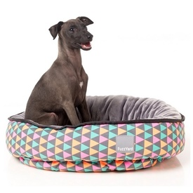 "Fuzzyard ""Pop"" Pastel Multi-coloured Triangles Dog Bed"