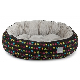 "Fuzzyard ""Space Raiders: Reversible Dog Bed"