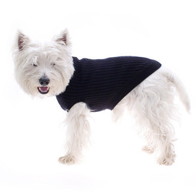 Pure Wool Dog Jumper in Black by Hamish McBeth