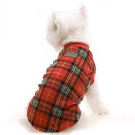 Red Tartan Dog Pyjamas by Hamish McBeth