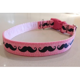 """Mustache"" Dog Collar - LAST ONE!"