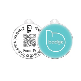 Pet Widget - Smart ID Tag for Lost Pets + BONUS Canvas Tote Bag