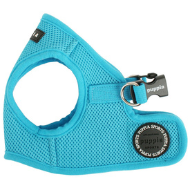 Puppia Soft Step-in Vest Harness - Light Blue
