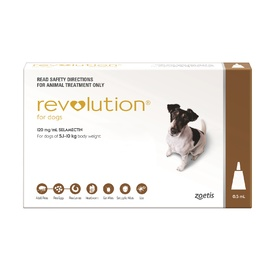 Revolution Flea Control for Dogs 5.1-10kg
