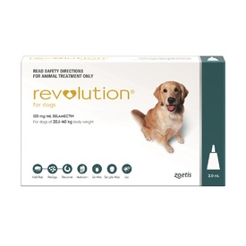 Revolution Flea Control for Dogs 20.1-40kg