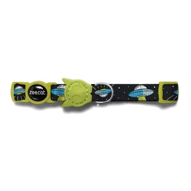 "Zee Dog ""Area 51"" UFOs Cat Collar"