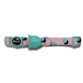 "Zee Dog Cat Collar ""Polka"" with Breakaway Safety Clip"