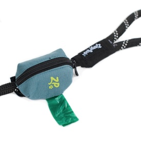 Zippy Paws Adventure Leash Dog Poo Bag Dispenser - Green